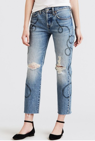 501 Original Cropped Jeans