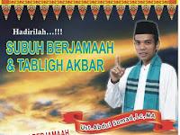 Ayo Ikuti ! Subuh Berjamaah Majelis Sirah Bersama Ustadz Abdul Somad di Medan