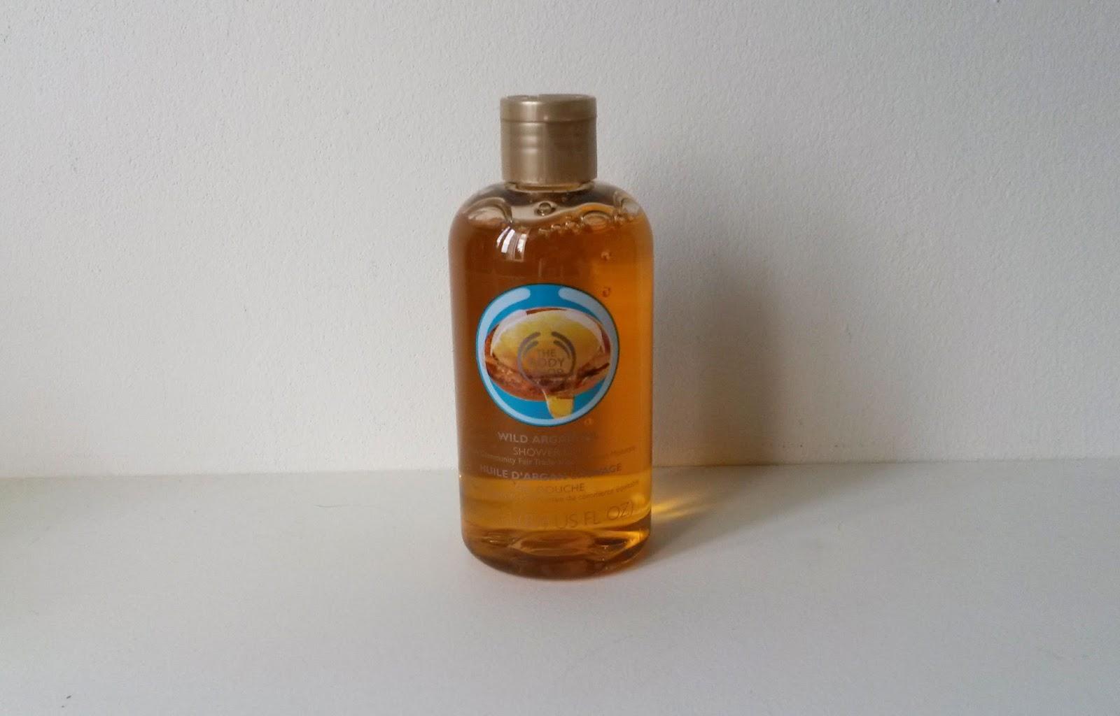 Coffret The Body Shop Huile d'argan sauvage gel douche