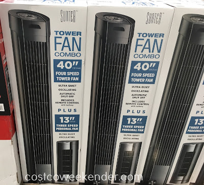 Stay cool this summer with the Sunter Tower Fan Combo