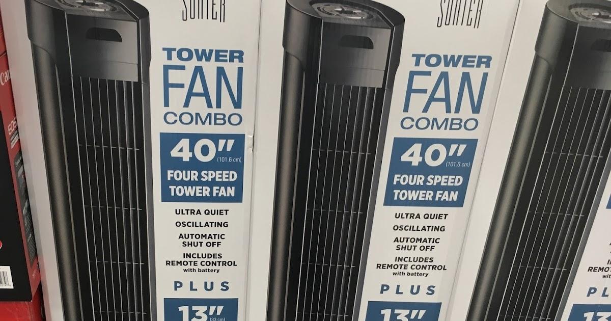 Fans At Costco : Sunter tower fan combo costco weekender