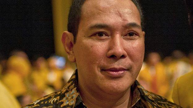 Politisi Partai Berkarya, Tommy Soeharto mengaku khawatir dengan ULN Indonesia - Foto: AFP / Tribun Medan