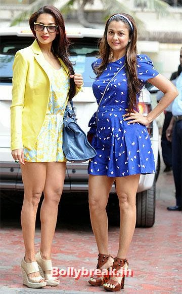 Malaika Arora Khan and Amrita Arora Ladak, Which Bollywood Actress Wears the Casual Clothes Best?
