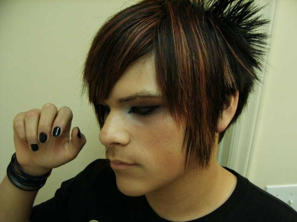 love male emo hairstyles