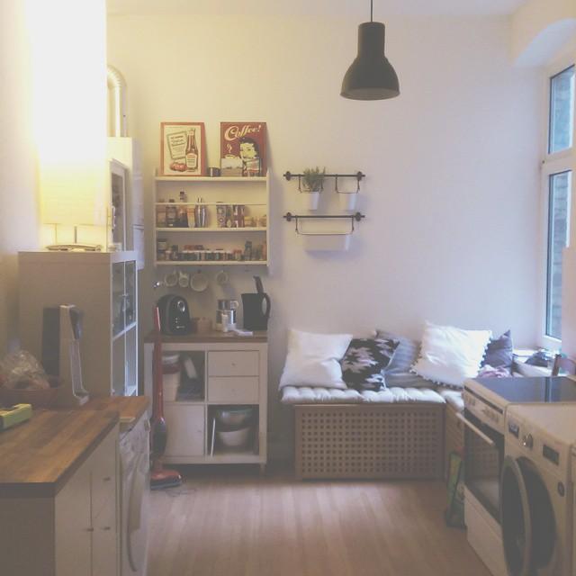 Mein Winterbalkon // Küchen-Sitzecke // Improvisation ist ...