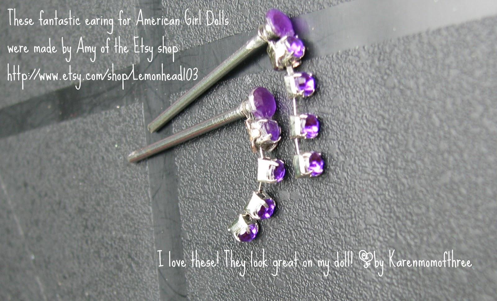 Karen Mom of Three's Craft Blog: Great Earrings for ...