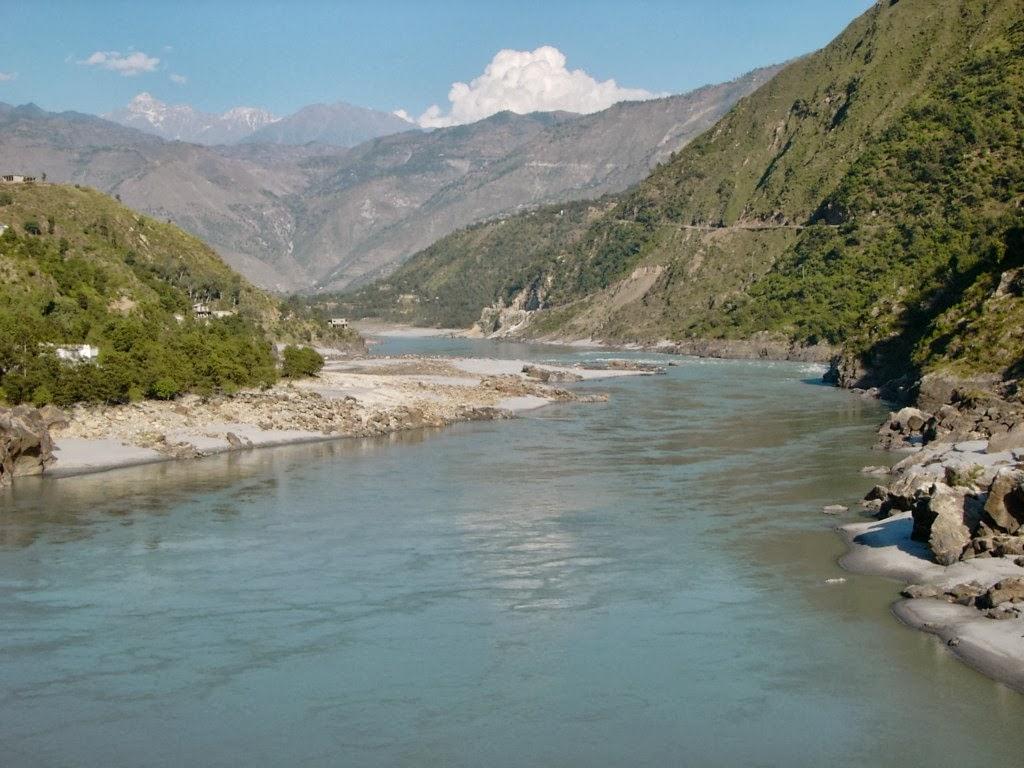 Rio Indo na Ásia