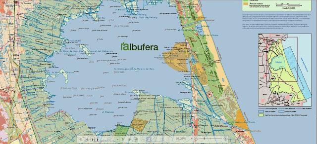 Resultado de imagen de mapa albufera