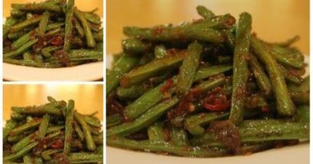 Resep Tumis Kacang Panjang Pedas PRAKTIS | Resep Juna