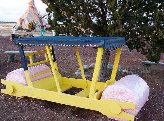 automovil de los picapiedra