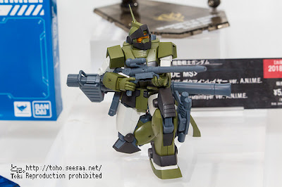 ROBOT SPIRITS Zaku・Mainlayer ver. A.N.I.M.E. display