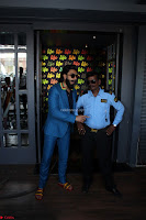 Ranveer Singh in Blue Blazer Spotted Life Bar ~  Exclusive 04.JPG