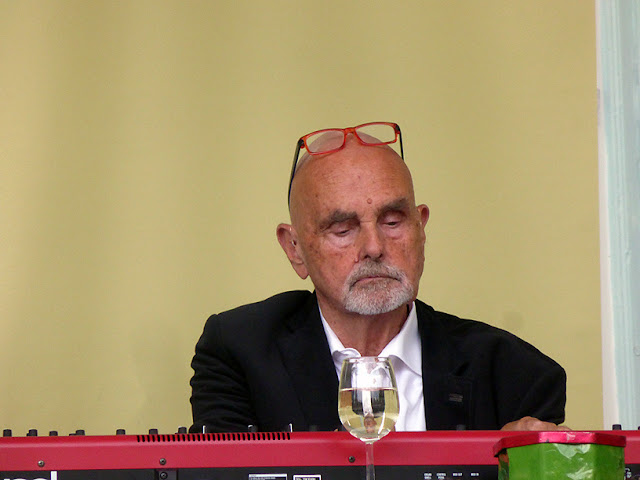 Roedelius @ More Ohr Less 2016 / photo S. Mazars