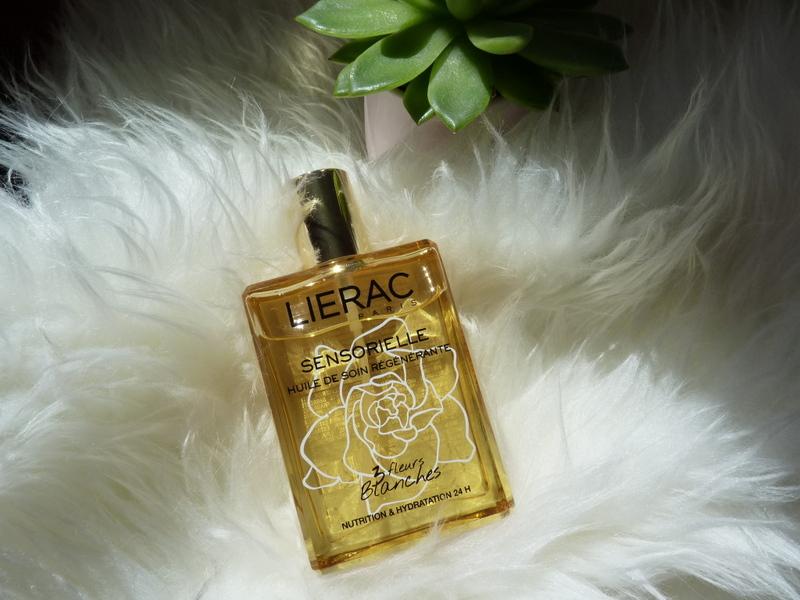 Lierac Sensorielle - zmysłowy suchy olejek do ciała, twarzy i włosów o zapachu białych kwiatów