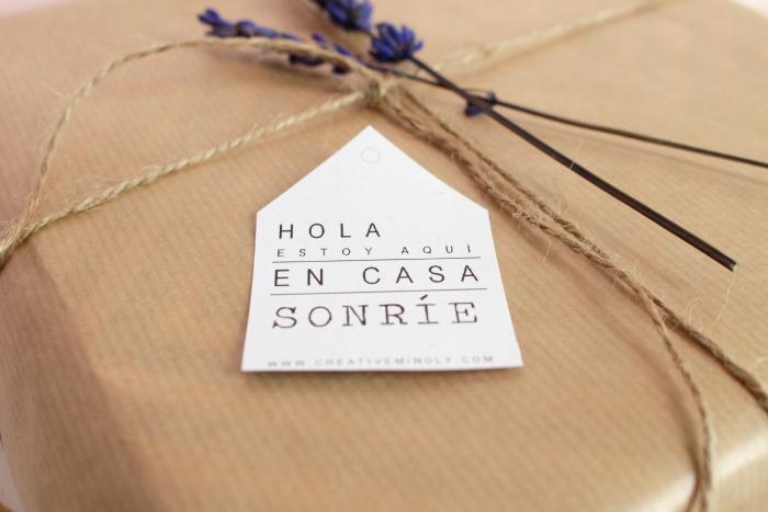 hacer etiquetas regalos bonitas