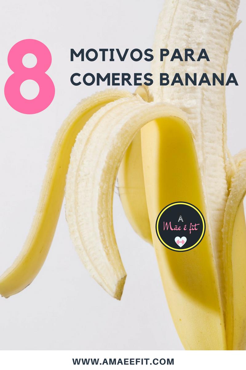 8 motivos para comeres banana-amaeefit.com- dicas-emagrecer-banana