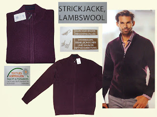 elegant Men's jacket Lamb's wool Cardigan Lamb wool M-XXL wine red new