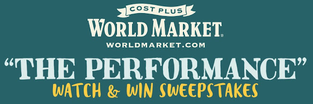 World Market Watch & Win Sweepstakes