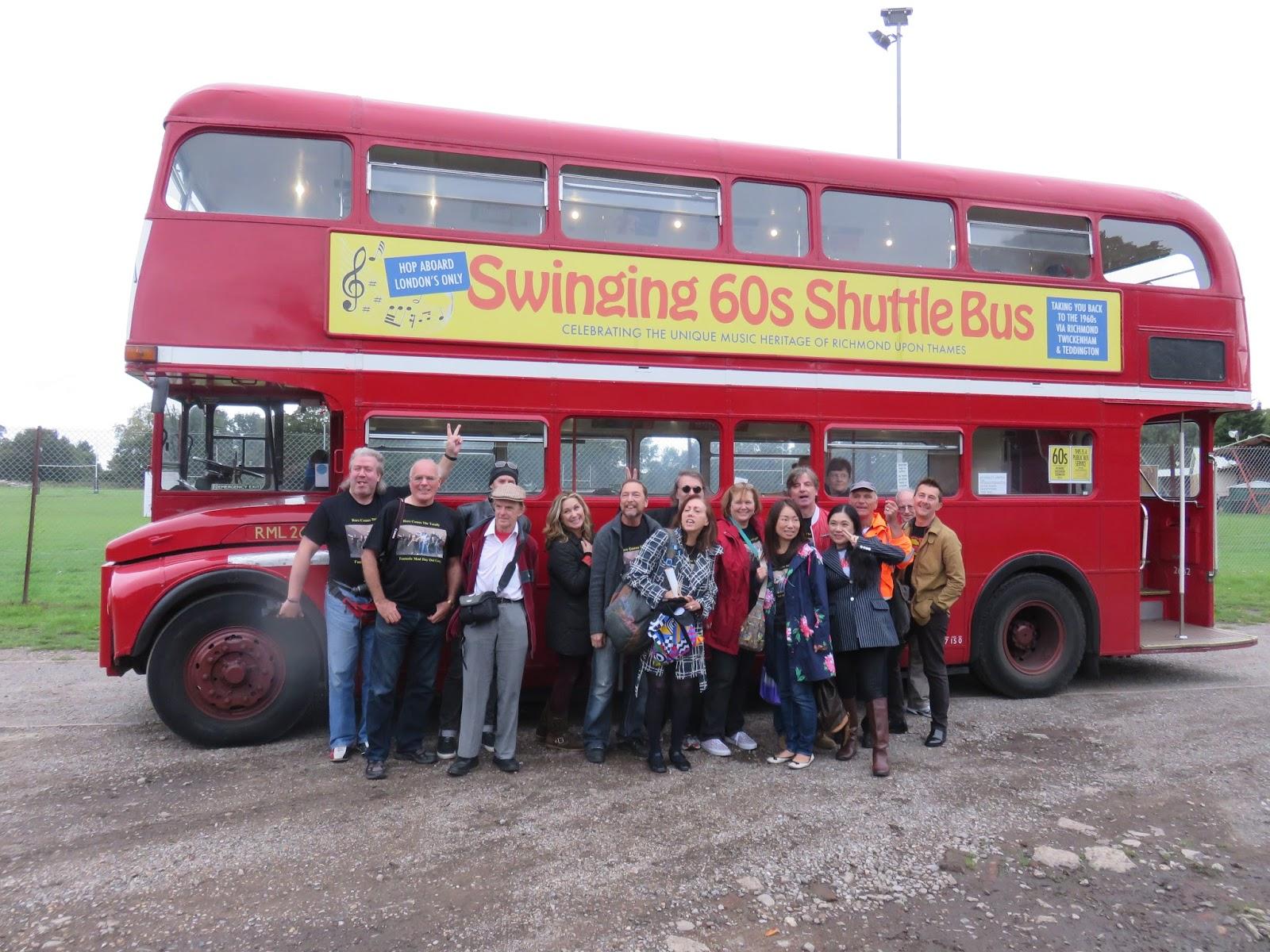 British Beatles Fan Club: Review: Swinging 60s Shuttle Bus