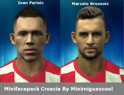 PES 2013 Mini Facepack Croatia by Minimiguexcool