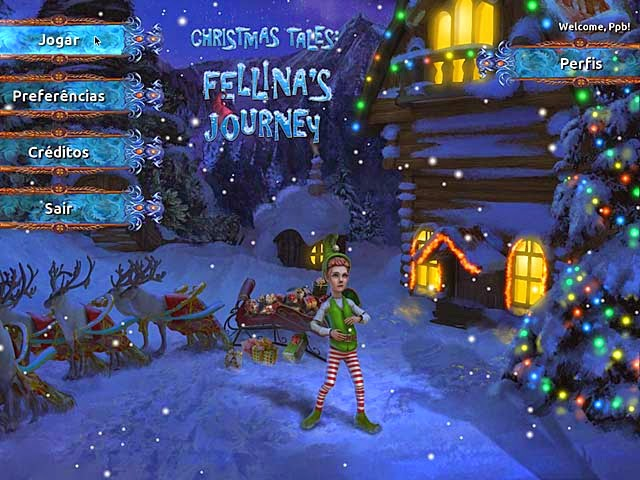 Christmas Tales - Fellina's Journey PT-BR Portable