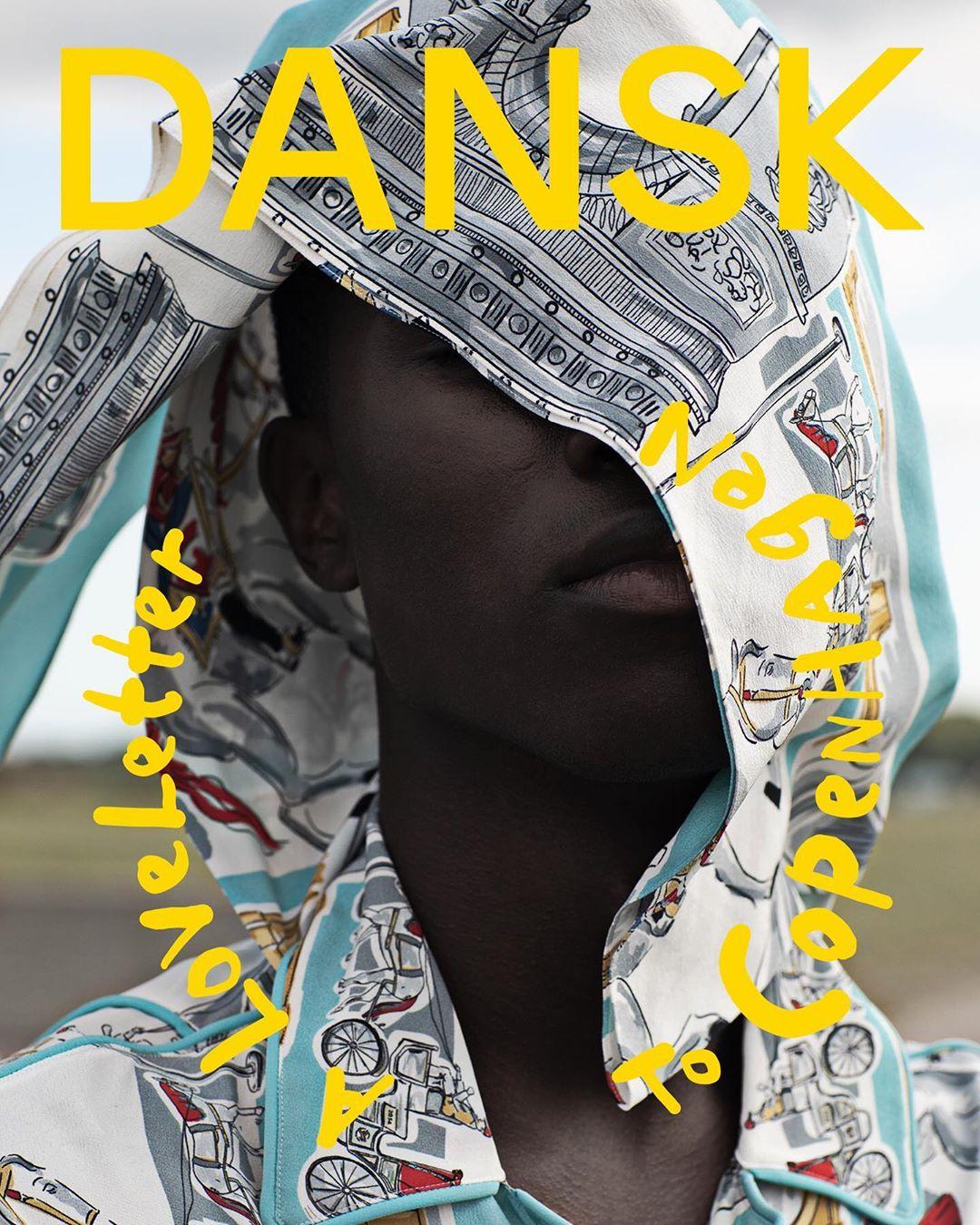 Brian C. Kamara para DANSK Magazine Fall-Winter 2019