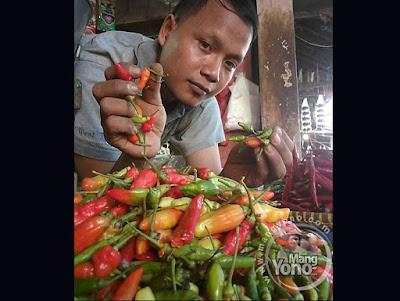 Harga Cabe di Pasar Pabuaran Subang Makin Pedas