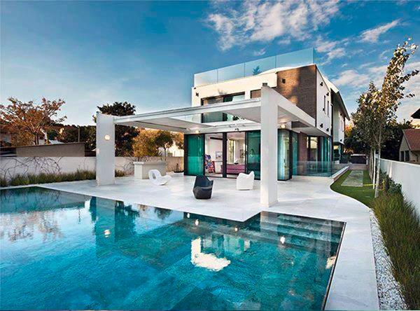 Contoh2 desain Kolam renang mewah ~ Design Rumah