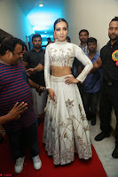 Catherine Tresa in Beautiful emroidery Crop Top Choli and Ghagra at Santosham awards 2017 curtain raiser press meet 02.08.2017 127.JPG
