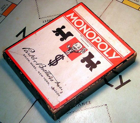 Monopoly 1935 box