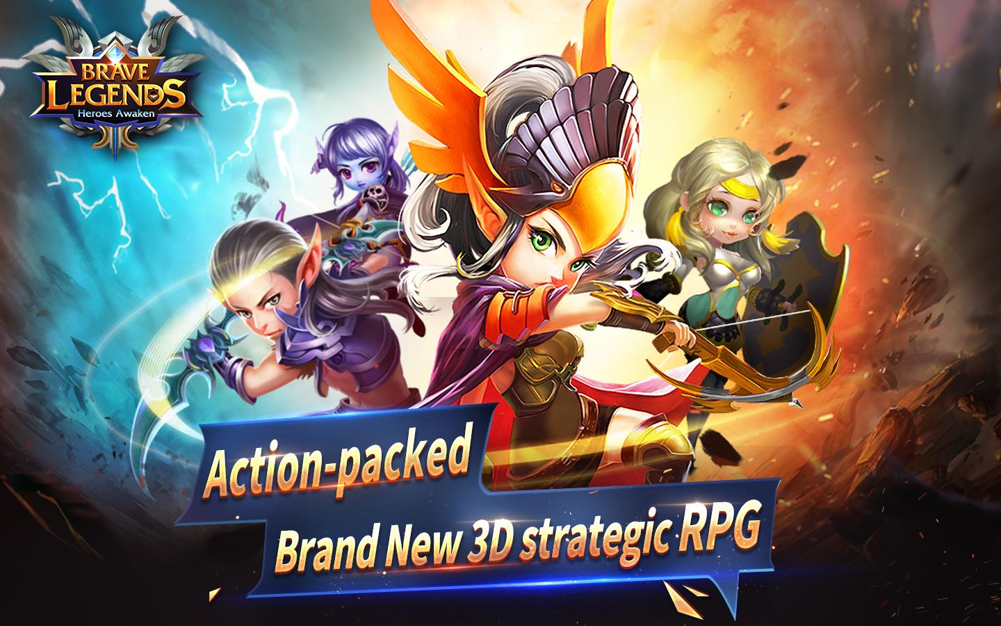 Brave Legends Heroes Awaken MOD APK