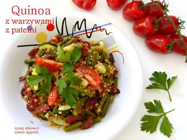 Quinoa z warzywami i chorizo z patelni - Czytaj więcej »