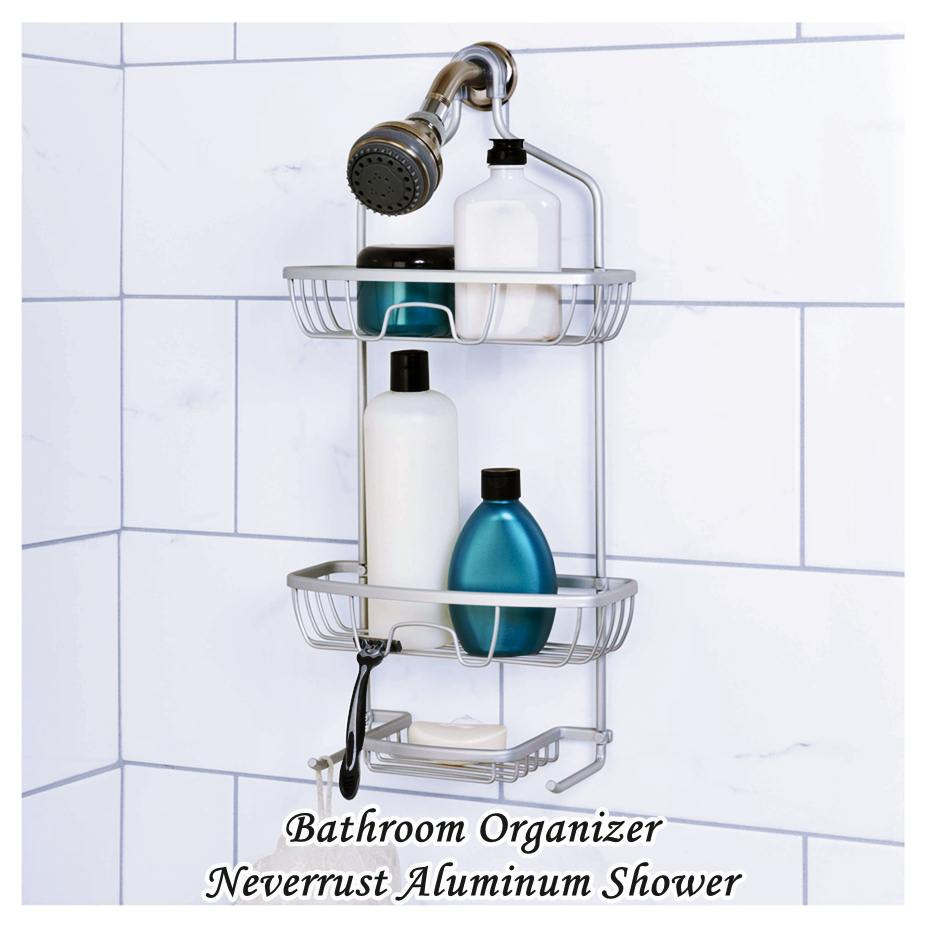Bathroom Organizer - neverrust aluminum shower