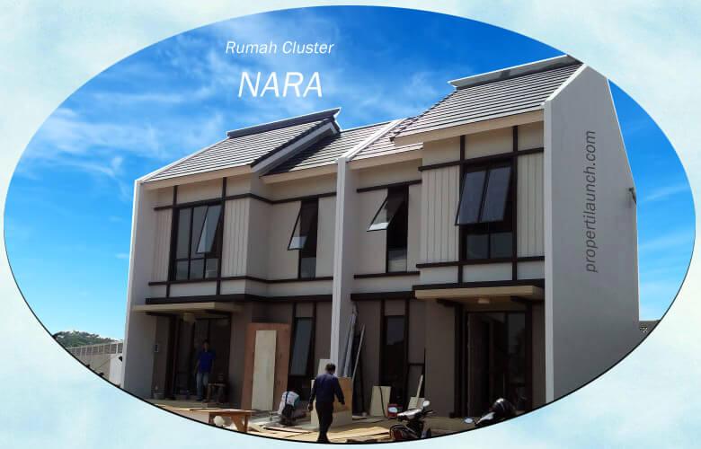 Rumah Cluster NARA Paramount Land Gading Serpong
