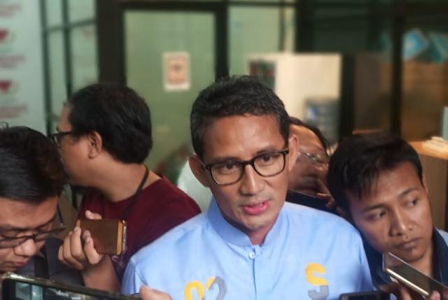Puji Jokowi, Sandi: Inilah The Real Prabowo