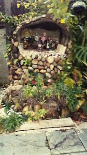 Passo a passo para fazer uma gruta oratório em seu jardim.
