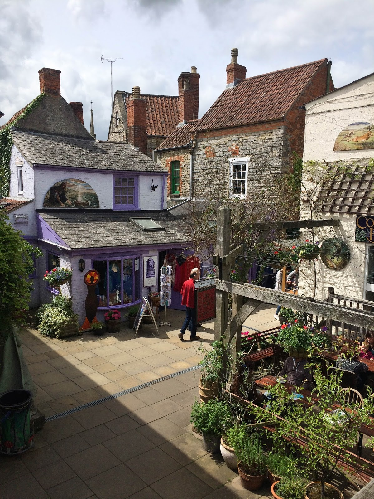 Things to do in Glastonbury, Glastonbury town, UK lifestyle blog