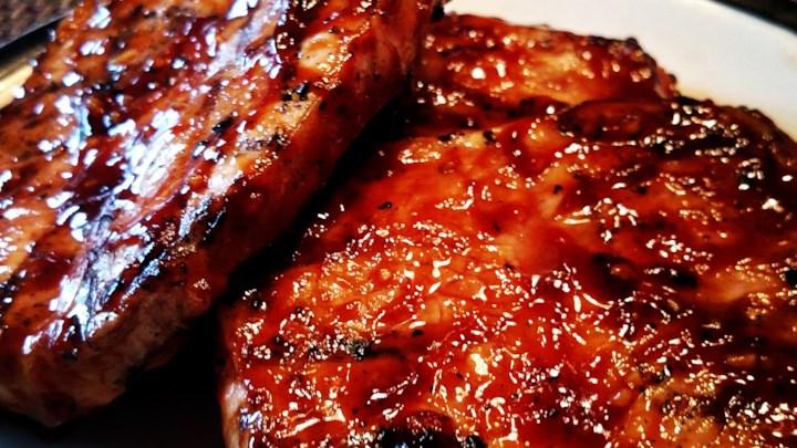 #Honey #Garlic #Pork #Chops