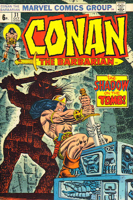 Conan the Barbarian #31, John Romita