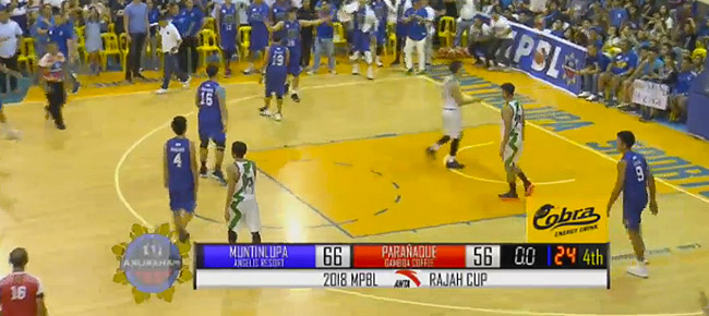 Muntinlupa Cagers def. Parañaque Patriots, 66-56 (REPLAY VIDEO) MPBL Semis Game 2 | April 7
