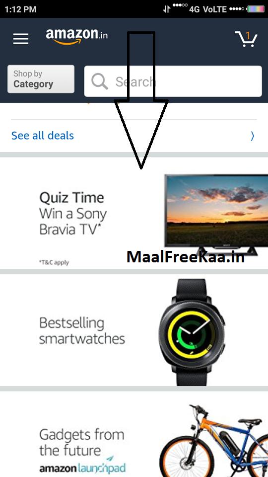 Amazon TV Quiz Answer & Win Sony Bravia TV (Answer All
