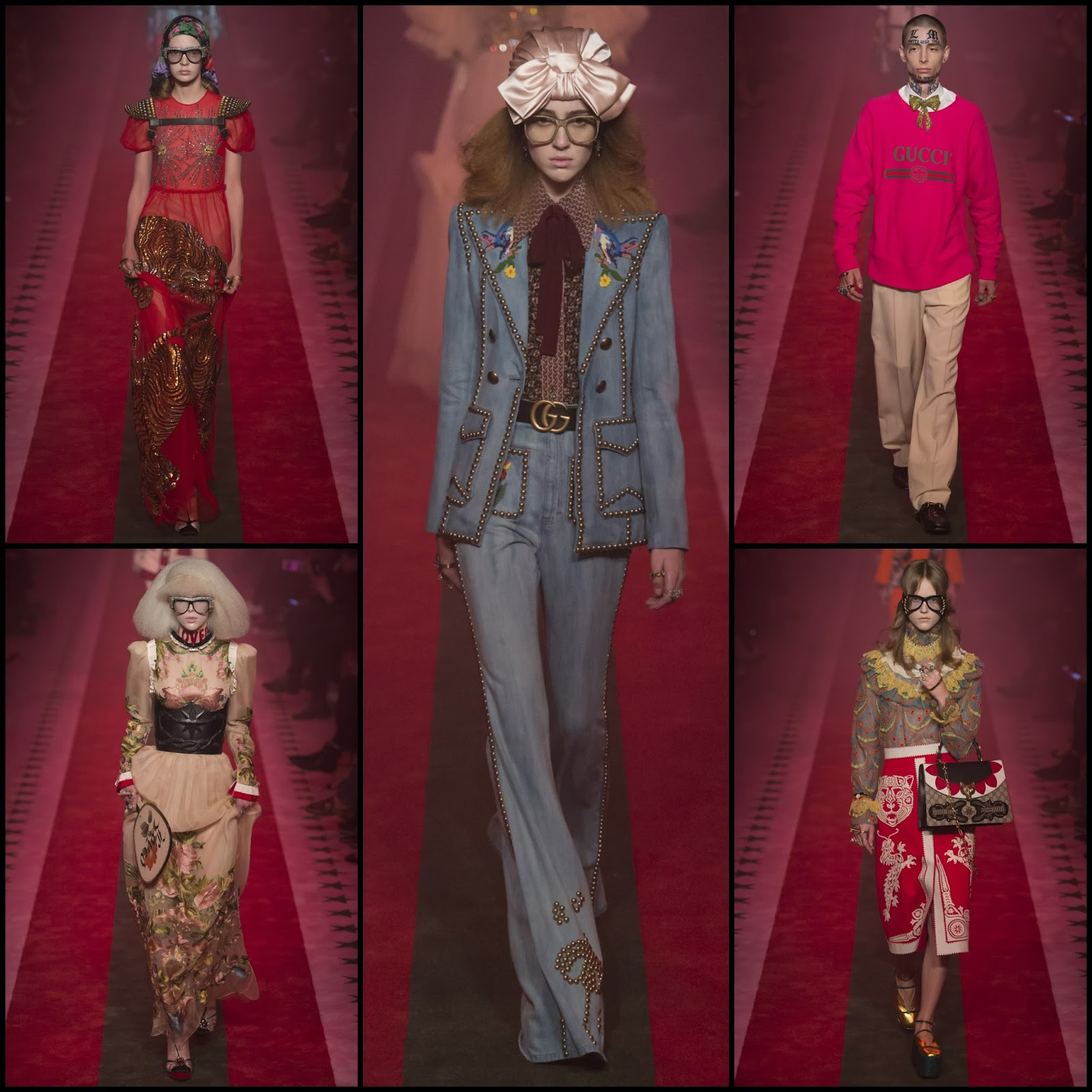 RUNWAY REPORT.....GUCCI Spring/Summer 2017