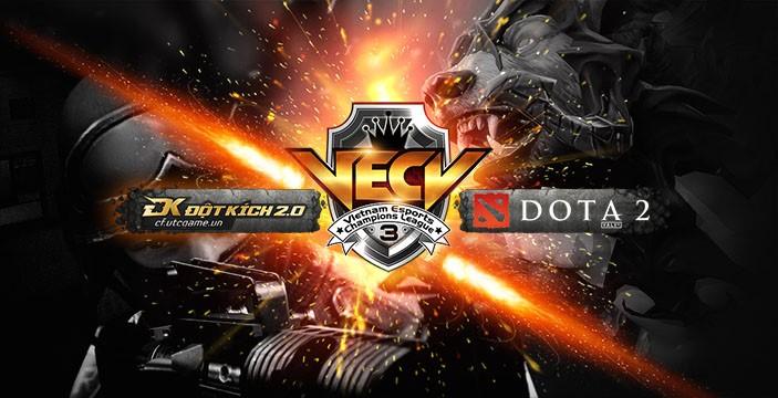 CyberZ1446784953 - [Dota2] ESV công bố giải đấu Dota2 VECL III với tiền thưởng khủng, thể thức mới lạ