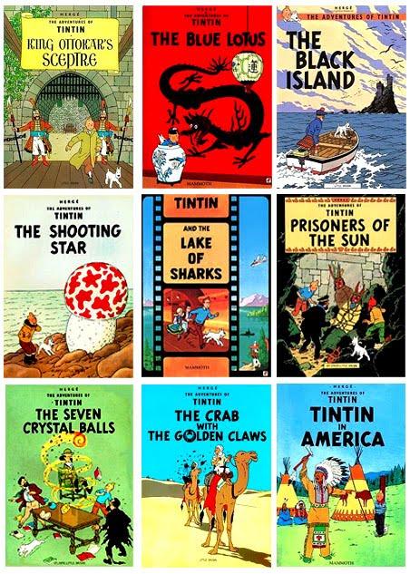Download Komik Petualangan Tintin