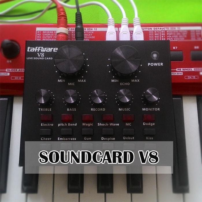 Taffware Live Soundcard V8