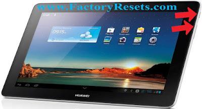 master-reset-Huawei MediaPad 10 Link+