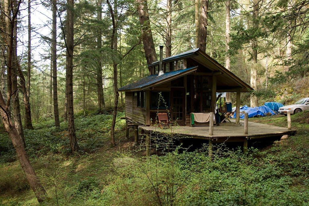 cabin ein mini haus mit veranda. Black Bedroom Furniture Sets. Home Design Ideas