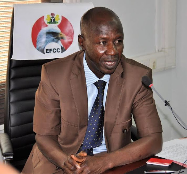 Mr Ibrahim Magu, the Acting Chairman