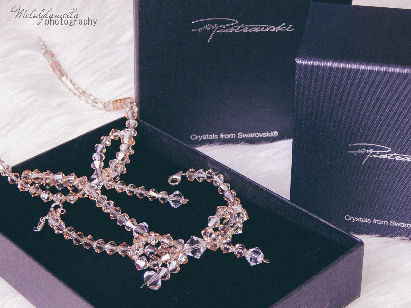 3 biżuteria M piotrowski recenzje kryształy swarovski przegląd opinie recenzje jak dobrać biżuterie modna biżuteria stylowe dodatki kryształy bransoletka z kokardką naszyjnik z kokardą złoto srebro fashion