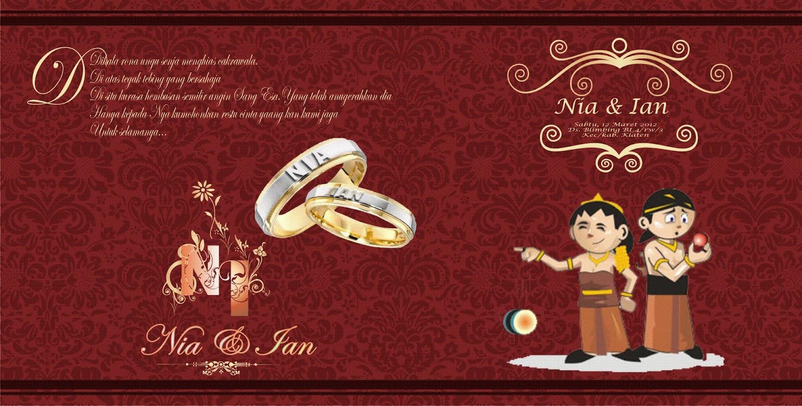 Desain Undangan Ulem Pernikahan Heri Syaifudin  Heri Syaifudin Bloggs